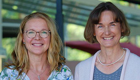 Carmen Birkenmaier und Sabine Dahl